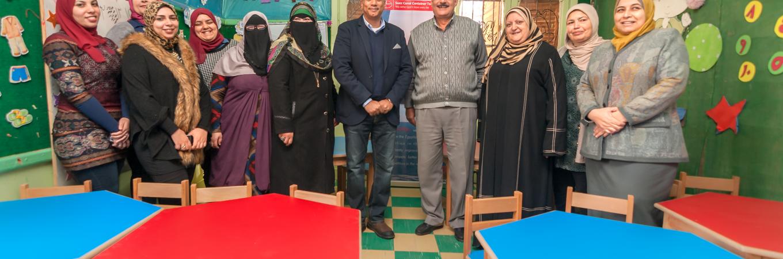 SCCT Furnishes 32 Kindergarten Classes in port Said