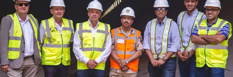 East Port Said Tunnel visit