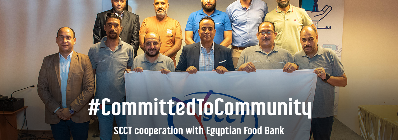 SCCT Complemented its Altruistic CSR Initiatives to Support 2000 Families in the Port Said Community