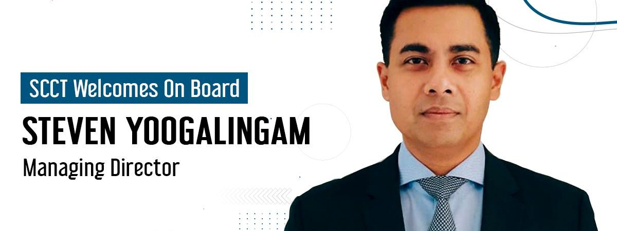 Steven Yoogalingam is appointed as the new Managing Director of Suez Canal Container Terminal (SCCT) effective 1st April 2021